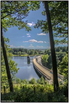 Dreilägerbachtalsperre#Eifel#Staumauer