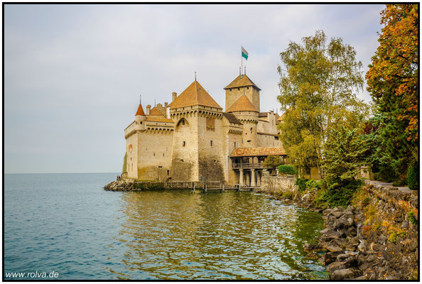 Schloß chillon # Genfer See # Montreux