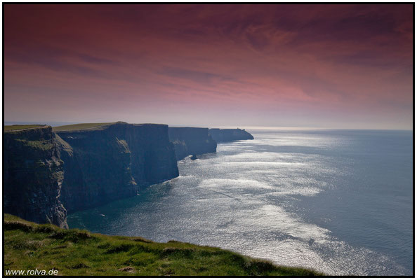 Cliffs of Moher#Irland#Westküste#Steilklippen#County Clare#O'Brien's Tower