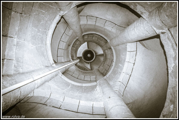 Treppe Munot#Zirkularfestung#Schaffhausen