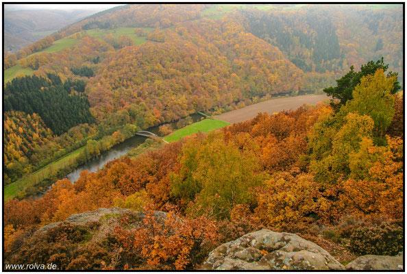 Rurtal#Herbst#Nebel