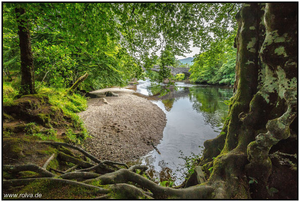 Orchy#Fluß#alte Steinbrücke