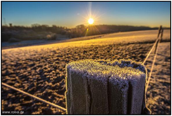 Sonnenaufgang#Frost