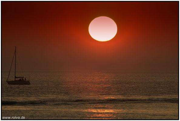 Sonnenuntergang#belgische Küste