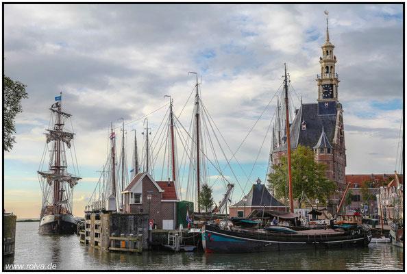 Hoorn#Segelschiff#Piraten#Hafenidylle