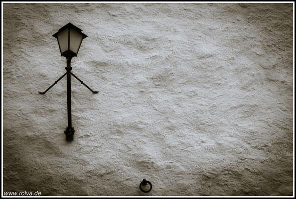 Hausfassade # Schwarz Weiss
