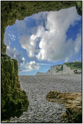 Étretat#Grotte#Porte d'Aval
