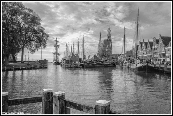 Hafen # Segelschiffe # Schwarz Weiss
