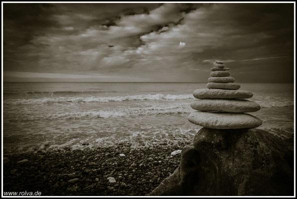 Skulptur # Steine # Schwarz Weiss