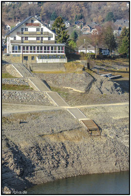 Wo ist der See#Rursee Trockenlegung#Sonderbares