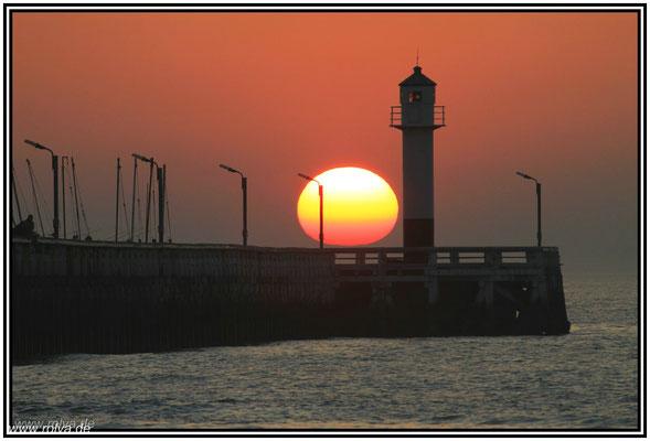 Sonnenuntergang#Nieuwpoort