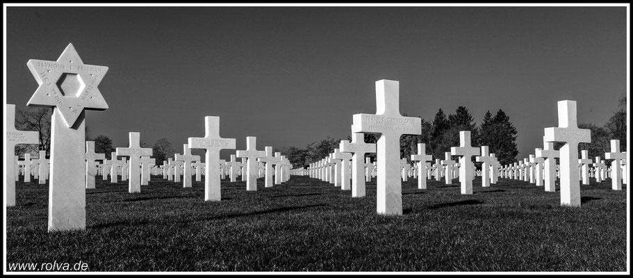 Margraten # Ehrenfriedhof # Schwarz Weiss#Netherlands American Cemetery and Memorial