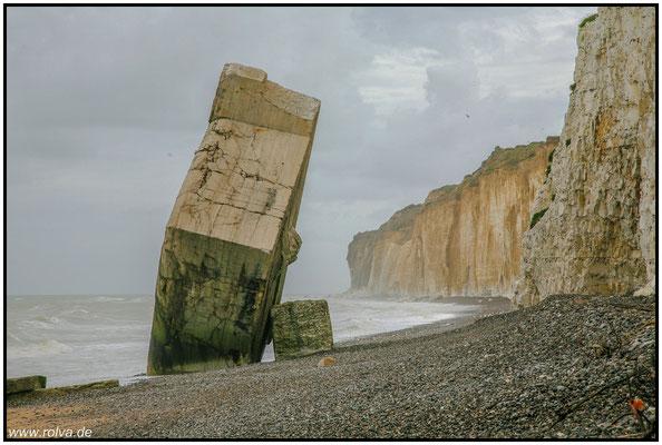 Normandie#Bunker#Klippen#Sonderbares