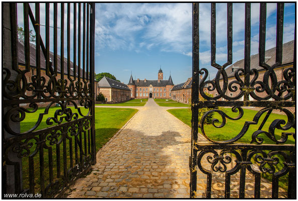 Château Schloss Alden Biesen#Limburg#Wasserschloß