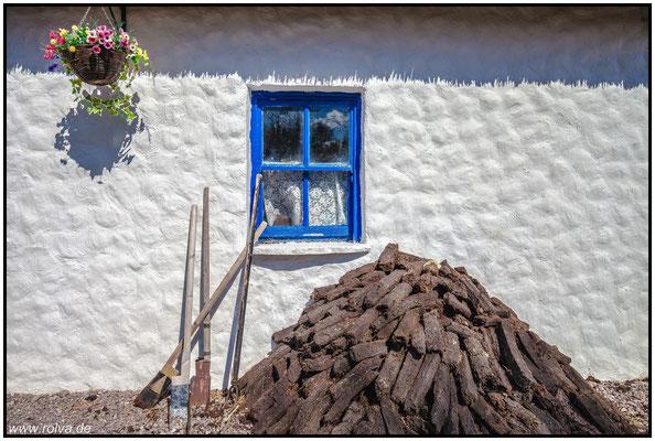 Torfstecher#Torf#Moor#Irland#Bog Village#Ring of Kerry