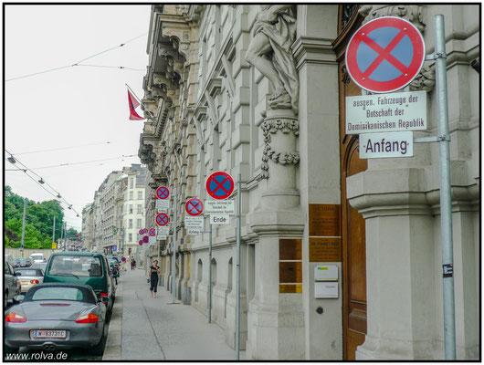 Parken verboten#Schilderwahnsinn#Wien#Sonderbares