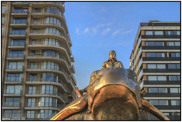 Nieuwpoort#Strand#Skulptur