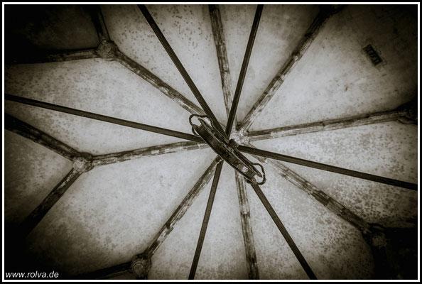 Deckenspiegel#Zisterne #Grote Kerk Veere# Schwarz Weiss