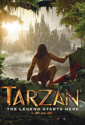 Feature Film  Tarzan 3D (2013)  -> My work:  Character  and Creature Animation (swinging Tarzan and swampmonster)  Facial and Finger Animation on mocaped characters  Prop Animation  Animatic  Actionsequences  Camera  Previz-Sets for motioncapturing