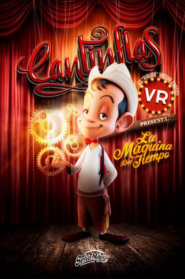 Short Film  Cantinflas VR: La Máquina del Tiempo (2017)  -> My work:  Character Animation  Prop Animation  Animatic