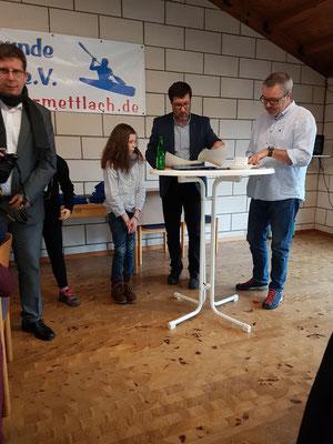 Elenor Hürtgen: 2. Platz bei den Süddeutschen Meisterschaften im Kanumehrkampf
