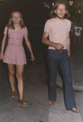 Italien mit Gabriela Giesa. Frühe 70er Jahre.