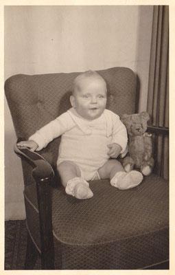 Louis Flamel als Halbjähriger (1954)