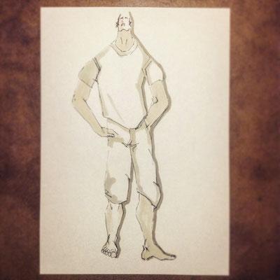 Entwurfszeichnung Markus Ehrhard