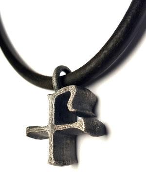 Chi-Ro Silberkreuz BOLD