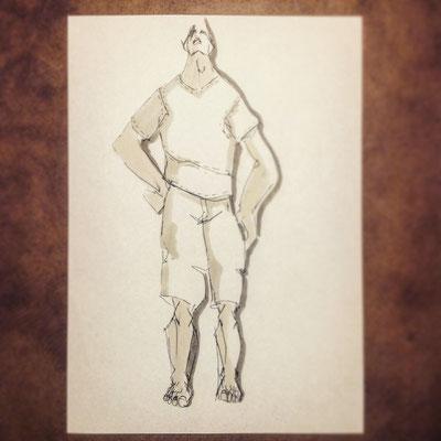 Zeichnung von Markus Ehrhard