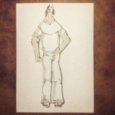 Entwurf Männermode von Markus Ehrhard
