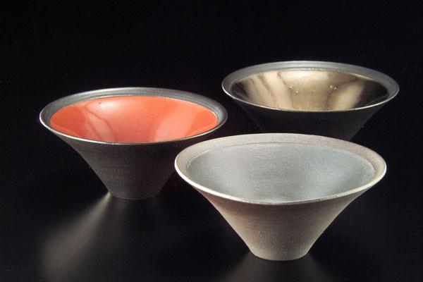黒陶小鉢 φ15cm