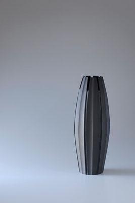黒陶線条器 h 40cm