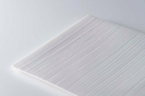 白磁木目皿 w・d 14cm