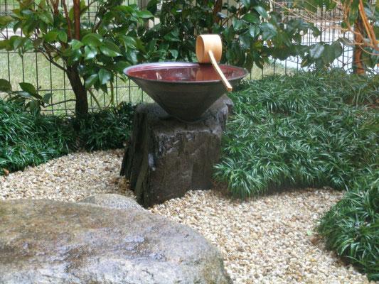 手水鉢 φ40cm