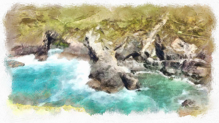 Tintagel and the dragon