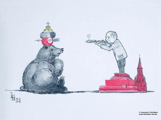 Wladimir Putin Wahlsieger in Russland