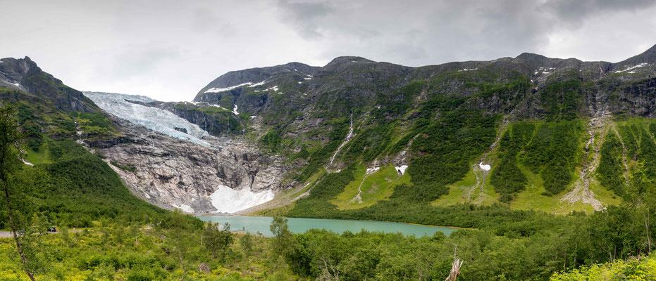 Bøyabreen Gletscher