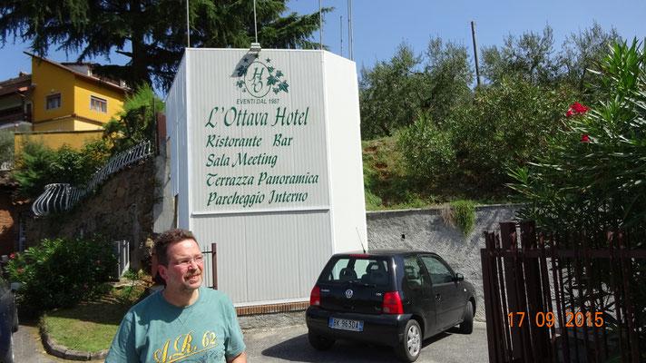 ...unser Hotel - in Frascati