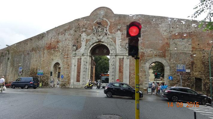 Hier gehts zur Altstadt von Siena
