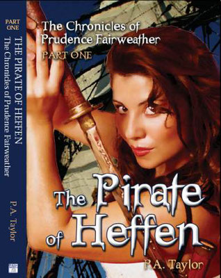 The Pirate of Heffen by Andy Taylor (Front Cover)