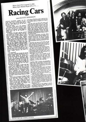 MMEB 1976 Roaring Silence Tour Programme Page 17