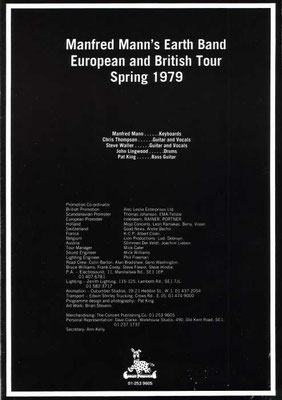 MMEB 1979 Angel Station Tour Programme Page 2
