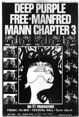 Manfred Mann Ch 3 Advert - Australia 1971
