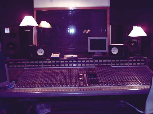 The mixing console at The Waterworks