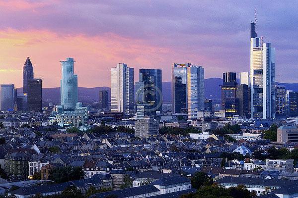 Skyline Frankfurt im Querformat 61