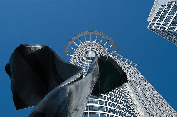 Skyline Frankfurt im Querformat 24