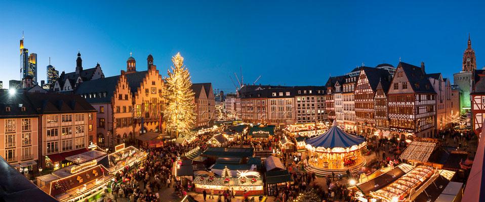 Der Frankfurter Weihnachtsmarkt am Römer 01