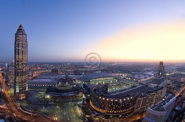 Skyline Frankfurt im Querformat 31
