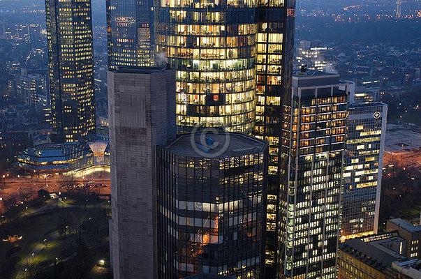 Skyline Frankfurt im Querformat 2